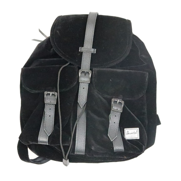 445873859c1 Herschel Supply Company Handbags - Herschel Dawson Black Velvet Backpack